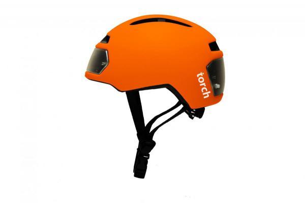 TORCH T2 fietshelm oranje